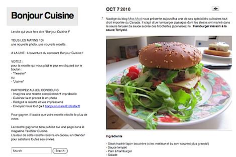 guim.fr: bonjour cuisine : concours de cuisine improbable (edit)