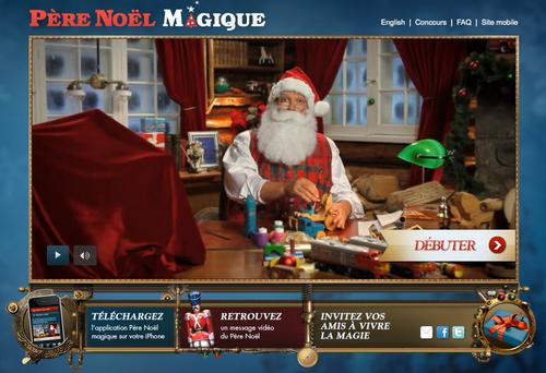 Pere-noel-magique