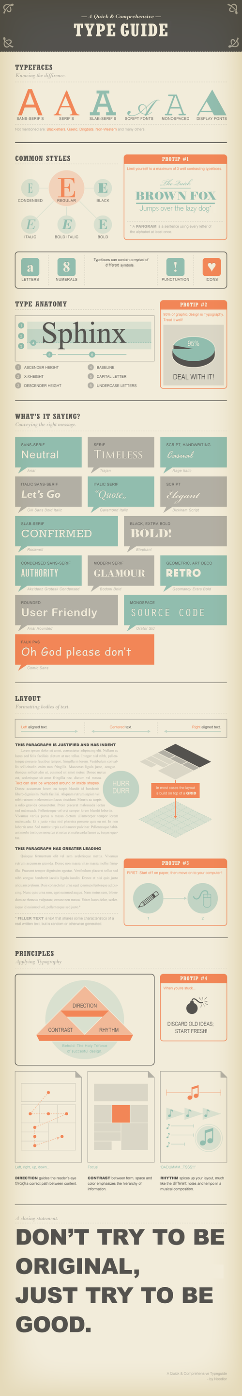 Guide-typographie