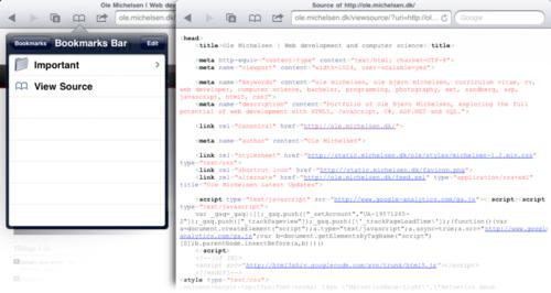Comment Voir Le Code Source D Une Page Web Depuis Safari