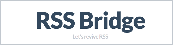 Rss-bridge