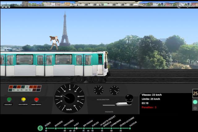 Paris-metro-simulator
