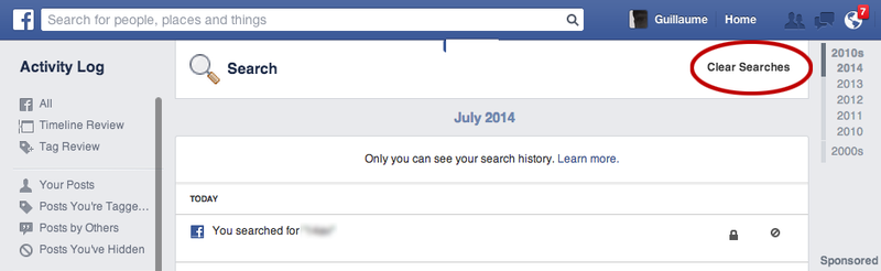 Recherche-facebook