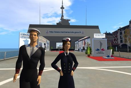 La-Marine-Dans-Second-Life-